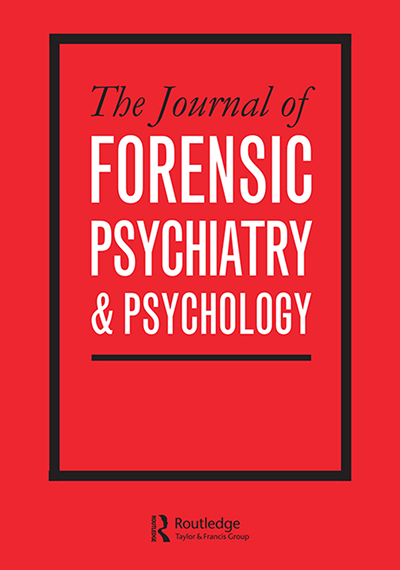 The Journal of Forensic Psychiatry & Psychology cover