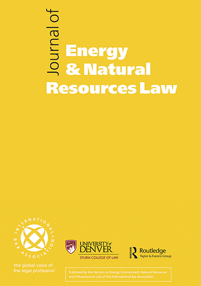 Journal of Energy & Natural Resources Law